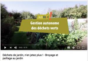 Film Déchets verts du jardin, n'en jetez plus, avec Denis Pépin