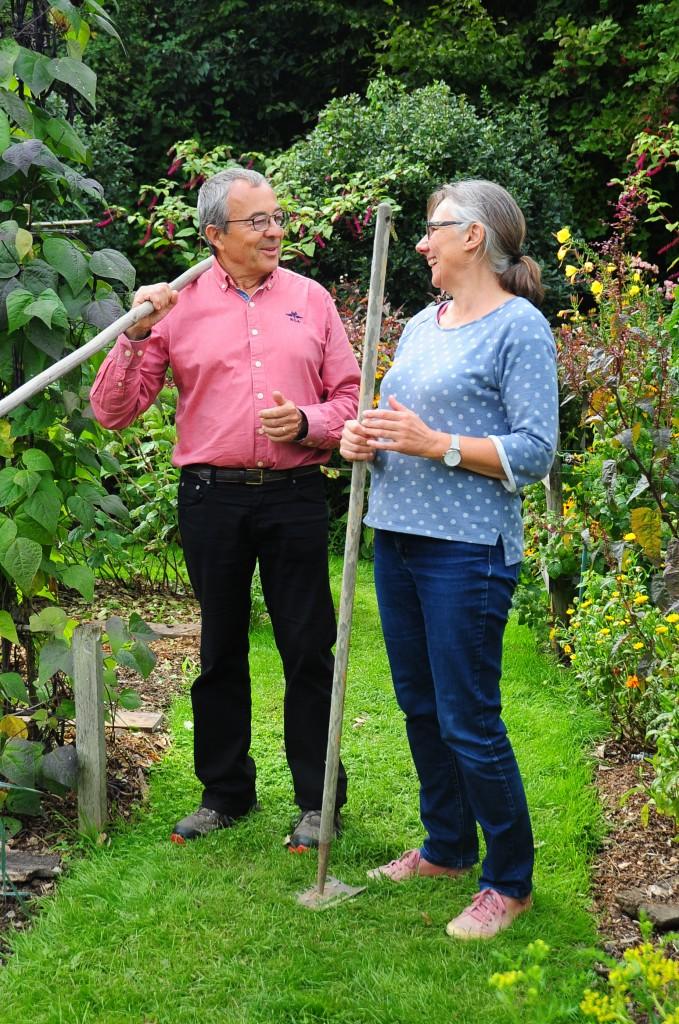 Bienvenue au jardin des pépins, pour des stages de jardinage biologique écologique et en permaculture, ou une visite (photo Flore Palix)
